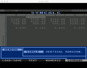 Synapse SynCalc Window 1