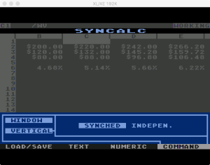 Synapse SynCalc Window 2