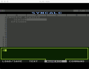 Synapse SynCalc Input Number
