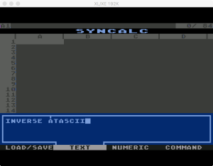 Synapse SynCalc Input Text