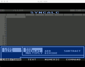 Synapse SynCalc Load Data 2
