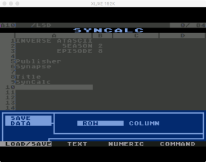 Synapse SynCalc Save Data 1