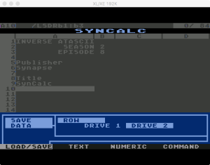 Synapse SynCalc Save Data 3