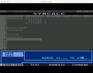 Synapse SynCalc Save Text 1