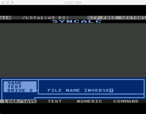 Synapse SynCalc Save Text 3