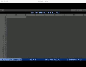 Synapse SynCalc Main Menu