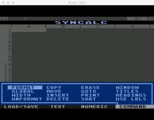 Synapse SynCalc Command Menu
