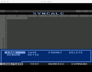 Synapse SynCalc Load Menu