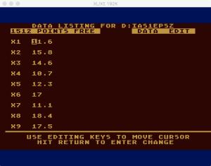 Atari Statistics I Edit 2