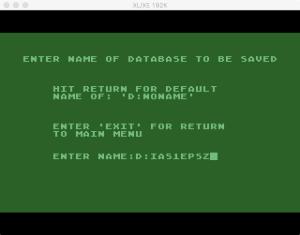 Atari Statistics I Save 1