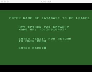 Atari Statistics I Load 1