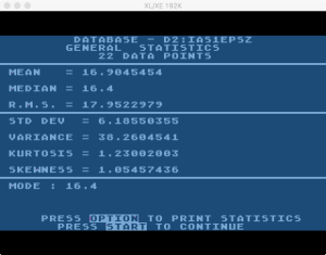 Atari Statistics I Process 7