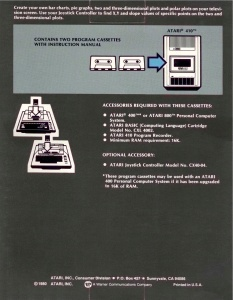 Atari Graph It Box Back