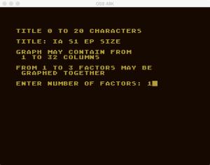 Atari Graph It Bar 2