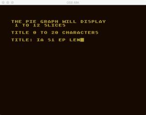 Atari Graph It Pie 1