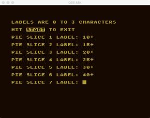 Atari Graph It Pie 2