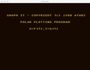 Atari Graph It Pol 1