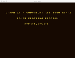 Atari Graph It Pol 1