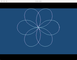 Atari Graph It Pol 9 Flower