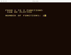 Atari Graph It XY 2