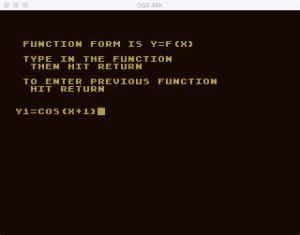 Atari Graph It XY 3