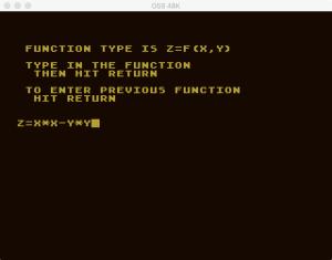 Atari Graph It XYZ 2
