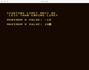 Atari Graph It XYZ 4