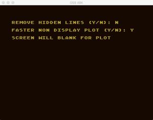 Atari Graph It XYZ 15