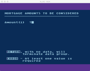 Atari MLA 1 Error 1