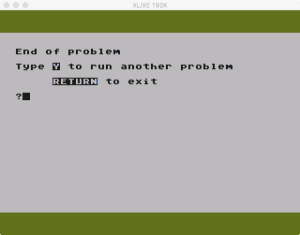 Atari MLA ReRun