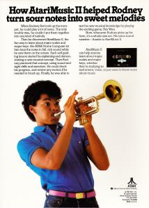 AtariMusic II Box Back