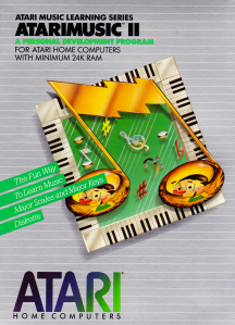 AtariMusic II Box Front