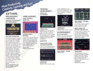 AtariMusic Atari Catalog Ad