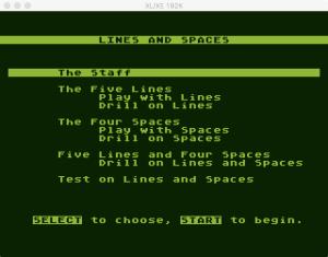 AtariMusic I 1 1 1 Menu
