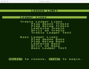 AtariMusic I 1 3 Menu