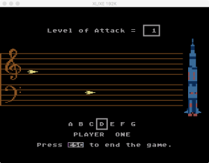 AtariMusic I Game 1