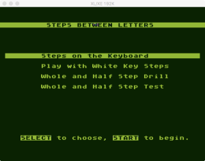 AtariMusic I 2 2 Menu