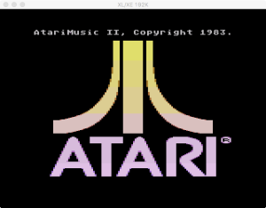 AtariMusic II Boot