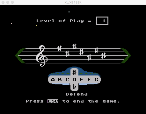 AtariMusic II Game 1