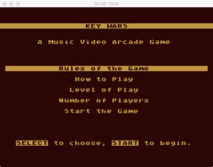 AtariMusic II 1 5 Menu