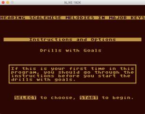 AtariMusic II 2 0 Menu