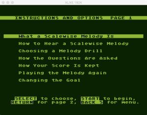 AtariMusic II 2 1 Menu 1