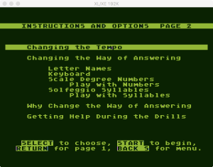 AtariMusic II 2 1 Menu 2
