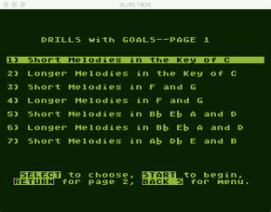 AtariMusic II 2 2 Menu 1