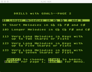 AtariMusic II 2 2 Menu 2