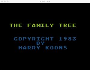 Family Tree Boot 1