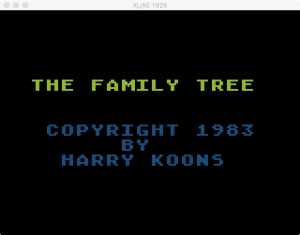 Family Tree Boot 1