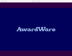 AwardWare Boot Splash 2