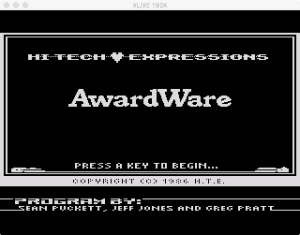 AwardWare Boot Splash 1