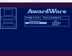 AwardWare 2 01